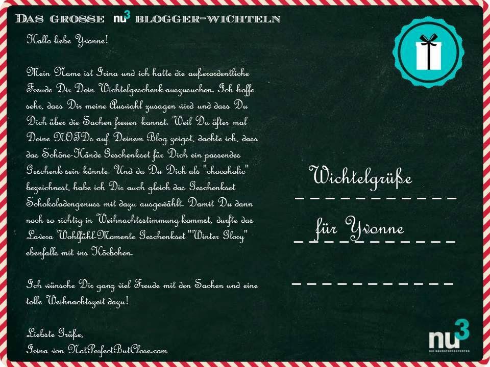 nu3 Blogger-Wichteln 2014