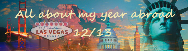All about my year abroad 12/13