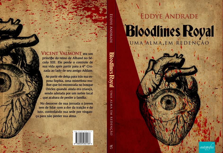 """Bloodlines Royal uma alma em redenção, narra a história do jovem príncipe Vicent Valmont que """"cego"""" pelo desejo de vingança arrisca tudo para conseguir seu objetivo, capaz até mesmo de perder sua alma."""