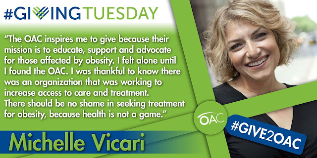 Michelle%2BVicari%2BOAC%2BBoard%2BMember Weight Loss Recipes Its Giving Tuesday   3 Ways to Give