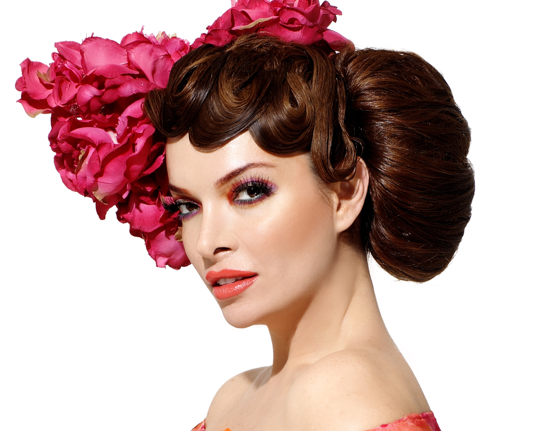 Finger Wave Hair Styles: THE GLAM DEPARTMENT: Be Bold And Bring Back The Bun