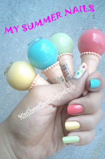 Etude House Ice Cream Nails