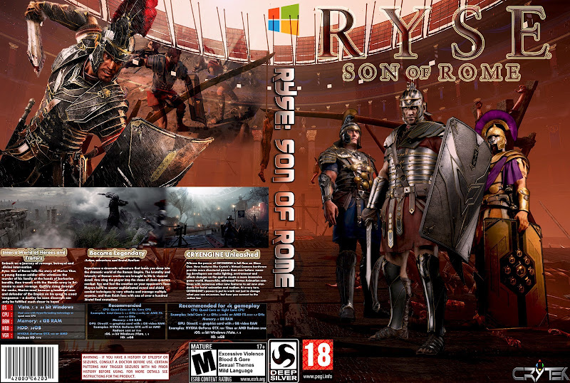 Capa Ryse Son Of Rome PC