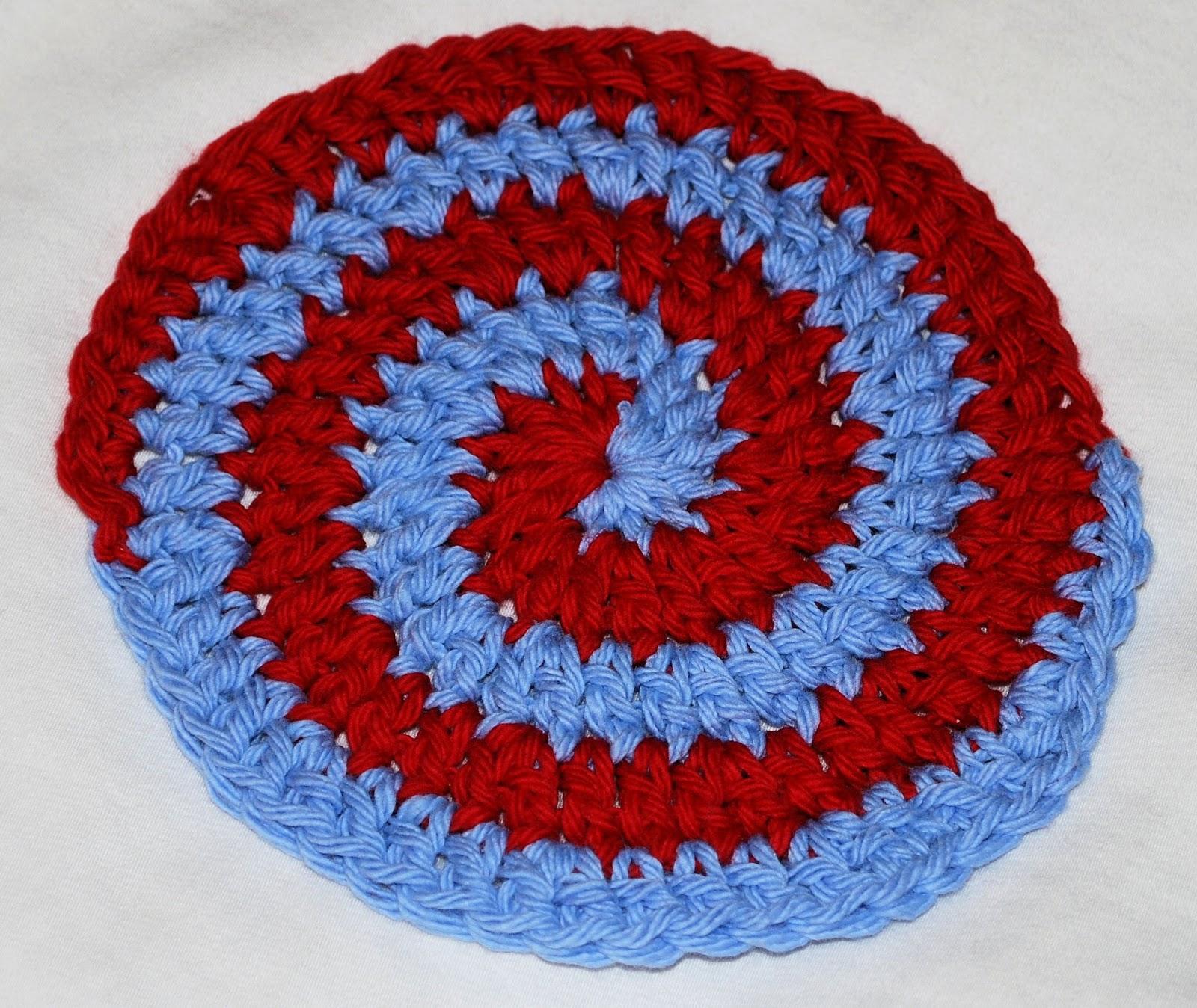 Moderno Patrón De Crochet Coaster Espiral Friso - Ideas de Patrones ...