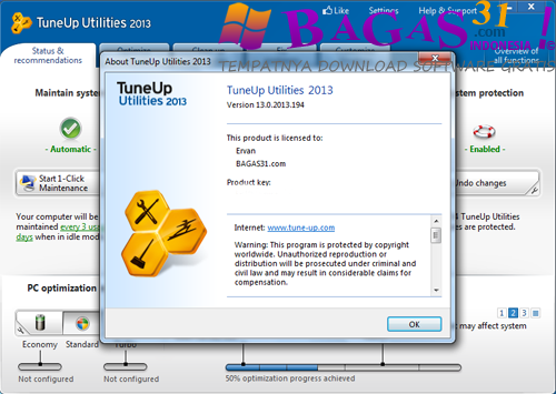 TuneUp Utilities 2013 13.0 Full Patch 2