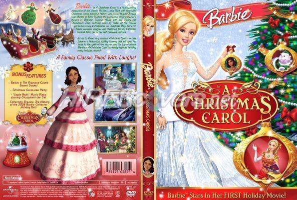 Barbie: Nueva caratula de Barbie en un cuento de navidad