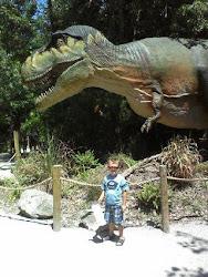 Sean & the t-rex