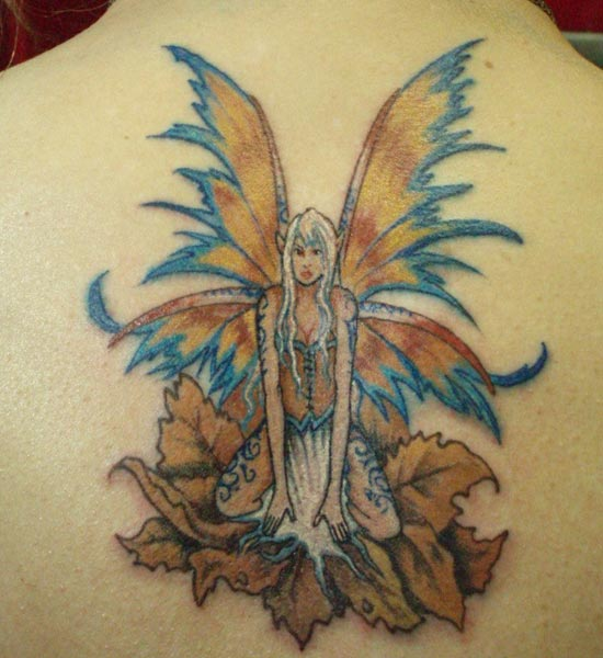 Fairy Tattoos on Back