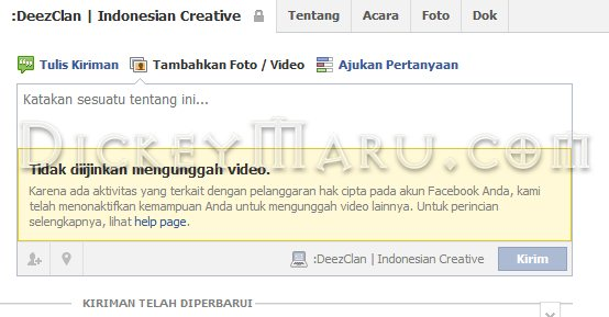 Trik Upload Foto Atau Video Facebook Jika Diblokir
