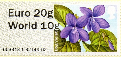 Spring Blooms Faststamp Euro20/World10 from Wincor machine.