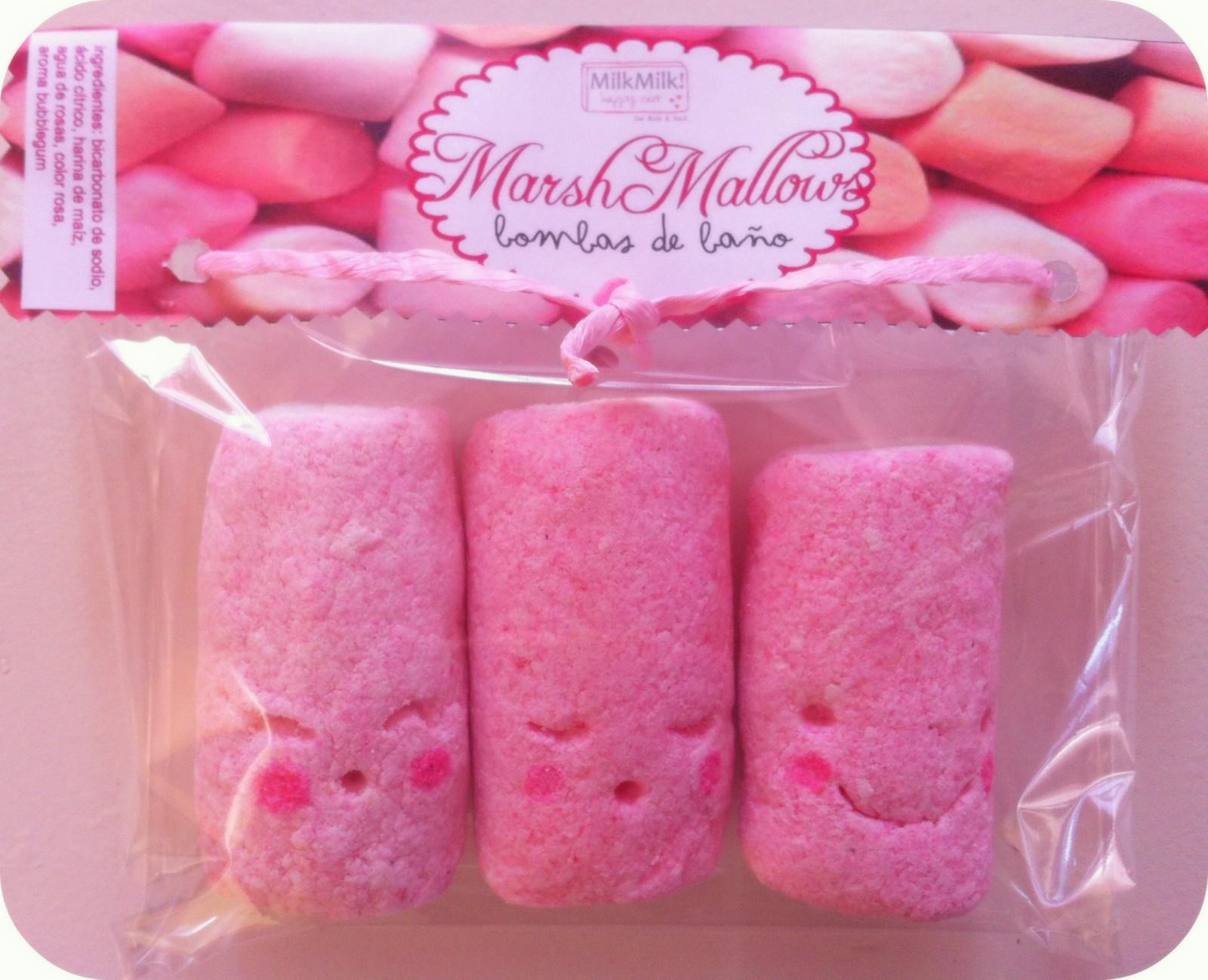 Milkmilk happysoaps bombas de ba o marshmallows - Bombas de bano lush ...