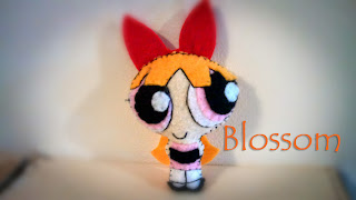 Blossom felt plush with Bubs B4Astudios