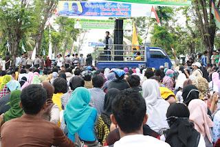 BEM STKIP Bima Demo Tolak Pertambangan