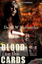 BLOOD ON THE CARDS by David W. Huffstetler