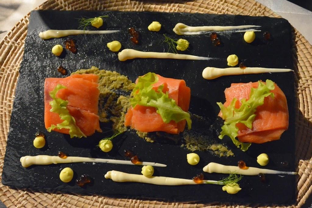 Zeascape Restaurant Phuket salmon