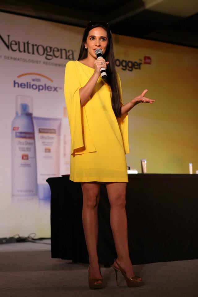 Neutrogena IndiBlogger Meet