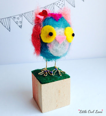 Sprinkles the Owl by Lady Lucas | 25€