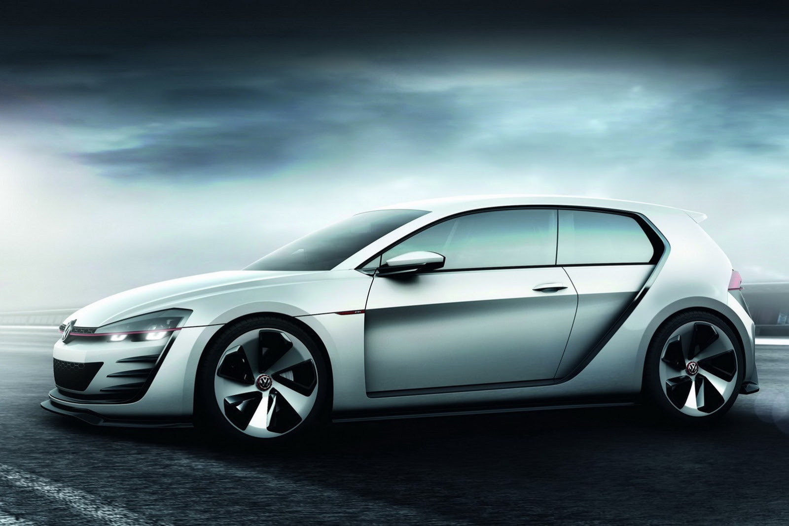 auto Volkswagen Golf Design Vision GTI 2013