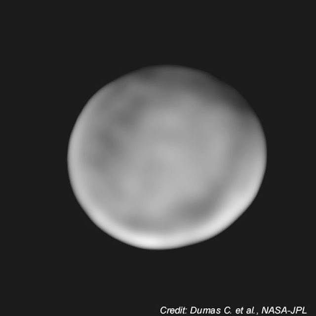 Keck Observatory Image of Ceres. Credit: Keck Observatory by C. Dumas (NASA-JPL)