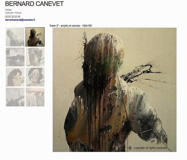 Le site du peintre Canevet