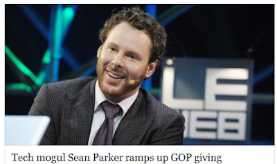 http://www.politico.com/story/2014/07/sean-parker-republican-donations-108859.html#ixzz3byGbBi9H
