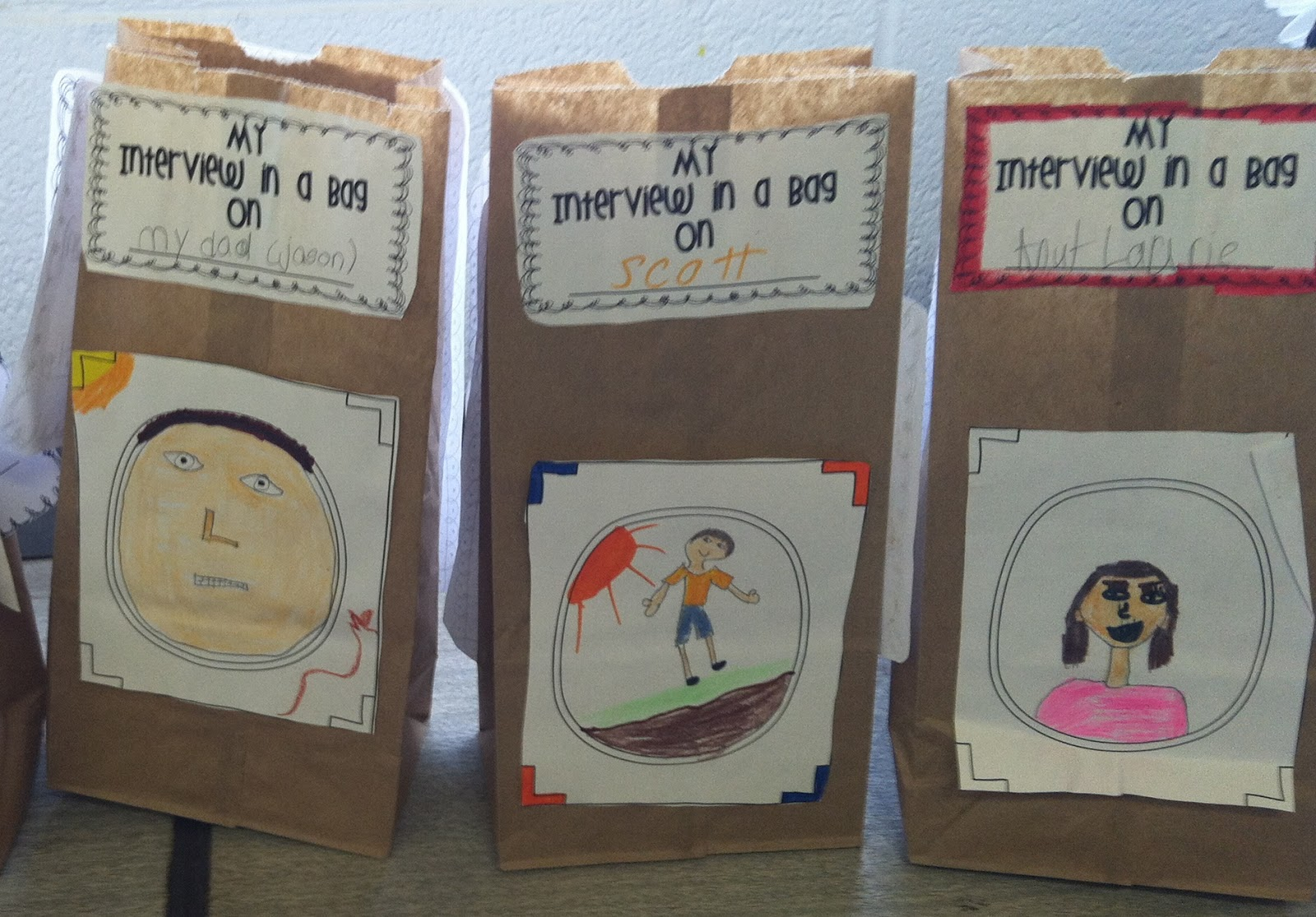 biography in a bag book report Biography shoe box a biography is an account you may use sources such as books, encyclopedias, the internet be prepared to present an oral report.