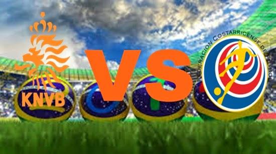Prediksi Skor FIFA World Cup Terjitu Belanda vs Kosta Rika jadwal 6 Juli 2014