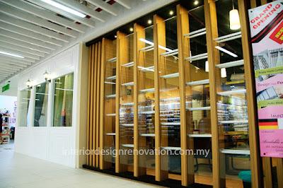 Renovation design Shoplot retail outlet shopping mall  kuala lumpur KWC kenanga