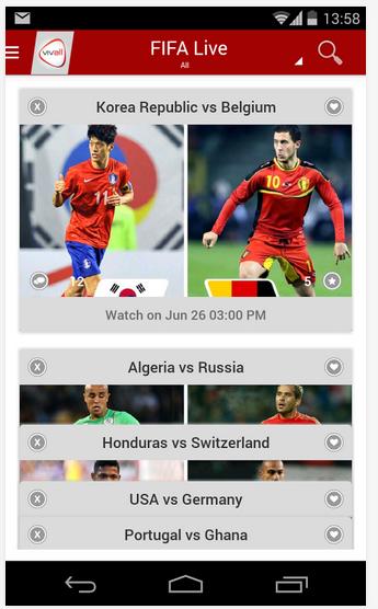 Download Apk Vivall - Aplikasi Streaming Piala Dunia 2014