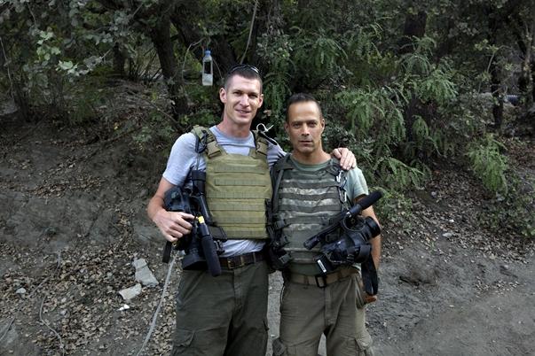 Sebastian Hunger y Tim Hetherington