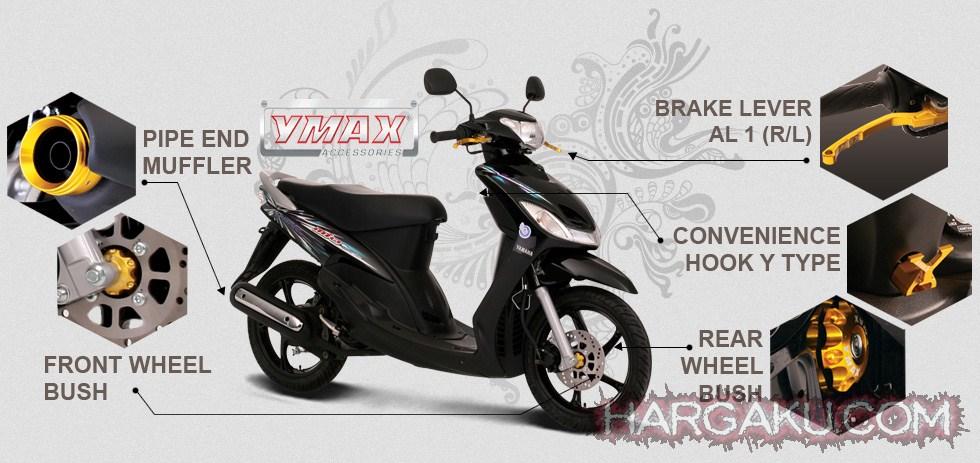 Harga aksesoris motor yamaha mio terbaru juni juli agustus 2015 gambar modifikasi motor yamaha mio terbaru 2015 altavistaventures Choice Image