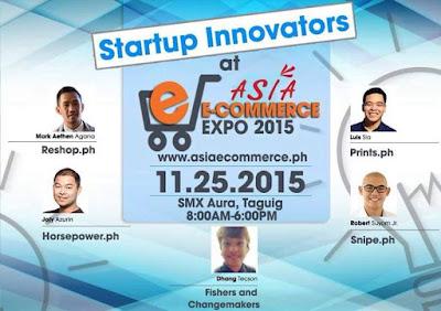 Innovators, Asia Ecommerce, Expo 2015