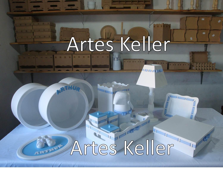 Artes Keller Kit de Higiene Nichos Redondos / Quadrados e  #31609A 1500x1170