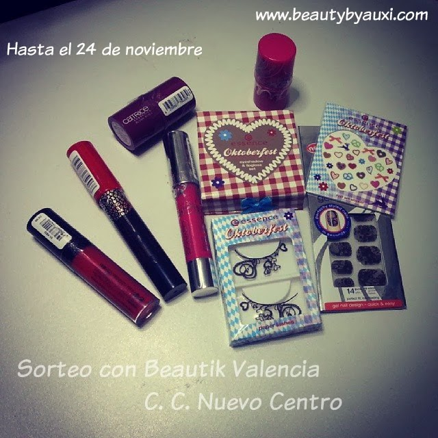 Sorteo beauty by Auxi