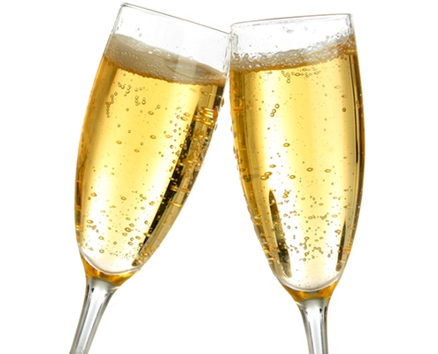 Champagne Glasses Vector Png