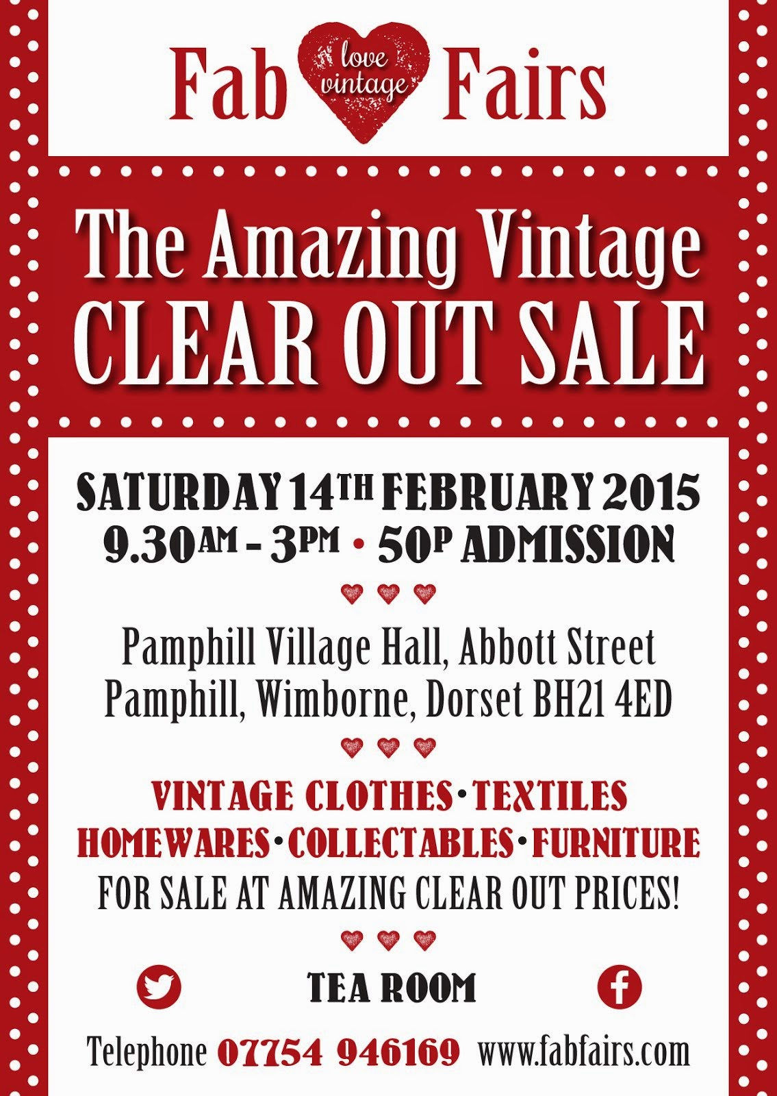 the amazing vintage clear out sale