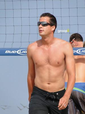 Daniel Dalanhese Shirtless at the NVL Malibu 2011