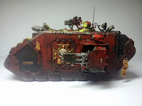 LAND RAIDER BLOOD ANGELS - WARHAMMER 40000 8
