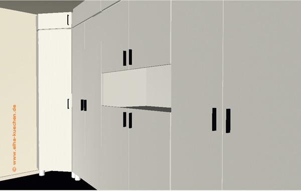 wir renovieren ihre k che einbauschrank sonderanfertigung auf ma. Black Bedroom Furniture Sets. Home Design Ideas