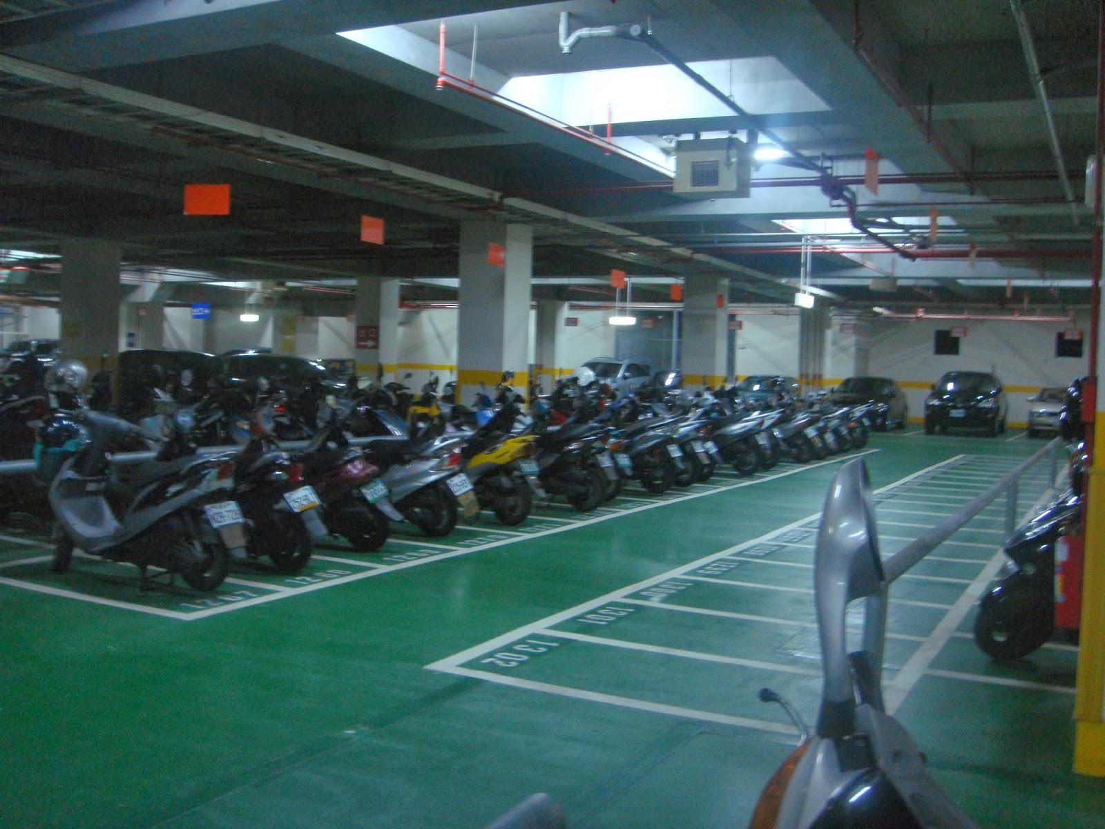 Тайпей, Тайвань, Азия, Asia, Taipei, Taiwan, паркинг мото, motorbike parking