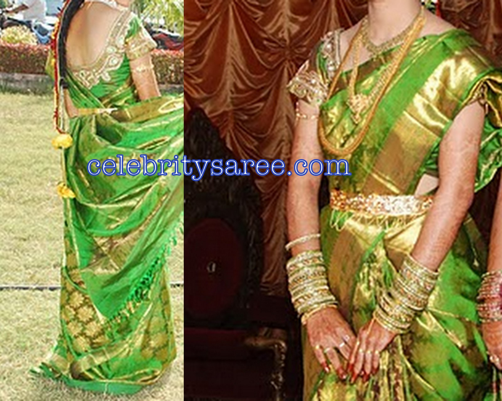 Silk Embroidery Designer Hand Work Blouses Gallery 1 Saree Blouse