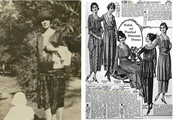 La mode au fil de l 39 histoire histoire des v tements de maternit - Femmes annees 20 ...