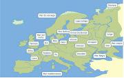 Ríos de Europa. Estes es el cmap de los ríos de Europa. (rios de europa)