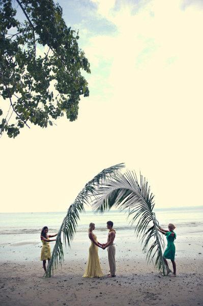 оформление свадьба пляжный морской стиль
