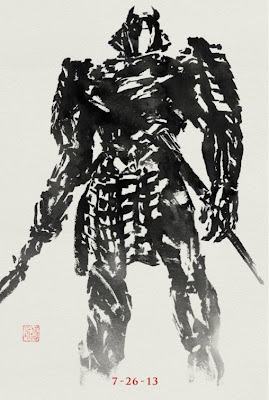 The Wolverine Sumi-e Character Movie Posters - Will Yun Lee as Silver Samurai