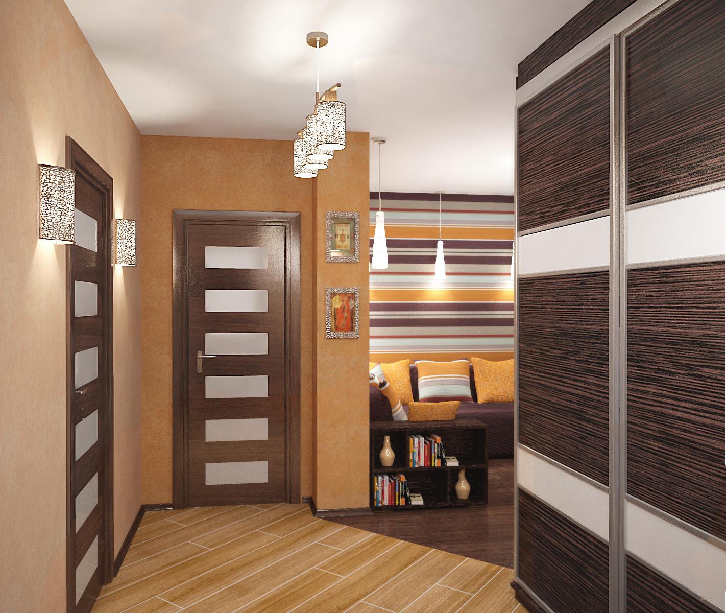 Пять дизайн-проектов квартир в панельном доме серии ИП-46С