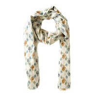 National Trust Oak Leaf Scarf