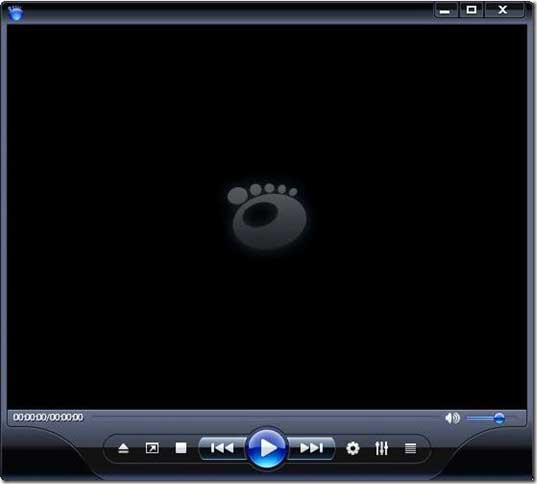 Windows Media Player 11 skin gom player