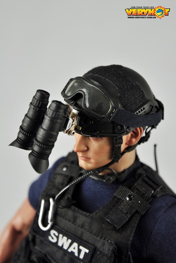 VeryHot 1//6 Scale Action Figure S.W.A.T Close Quarter Battle uniforme no bodyhead