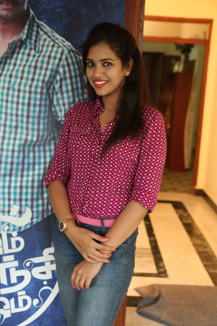 Actress Gowthami Chowdary Latest Cute Hot Spicy Photos Gallery At Om Shanti Om Movie Interview